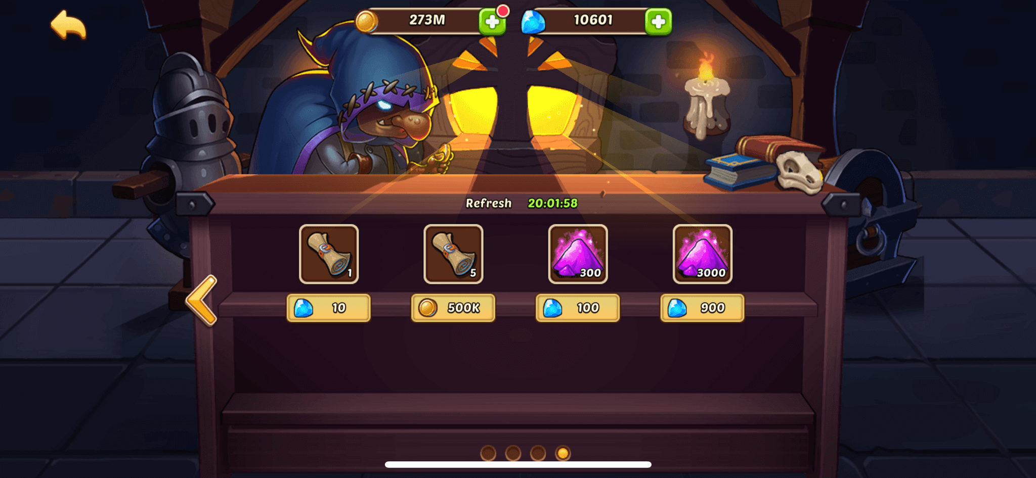 idle heroes new marketplace