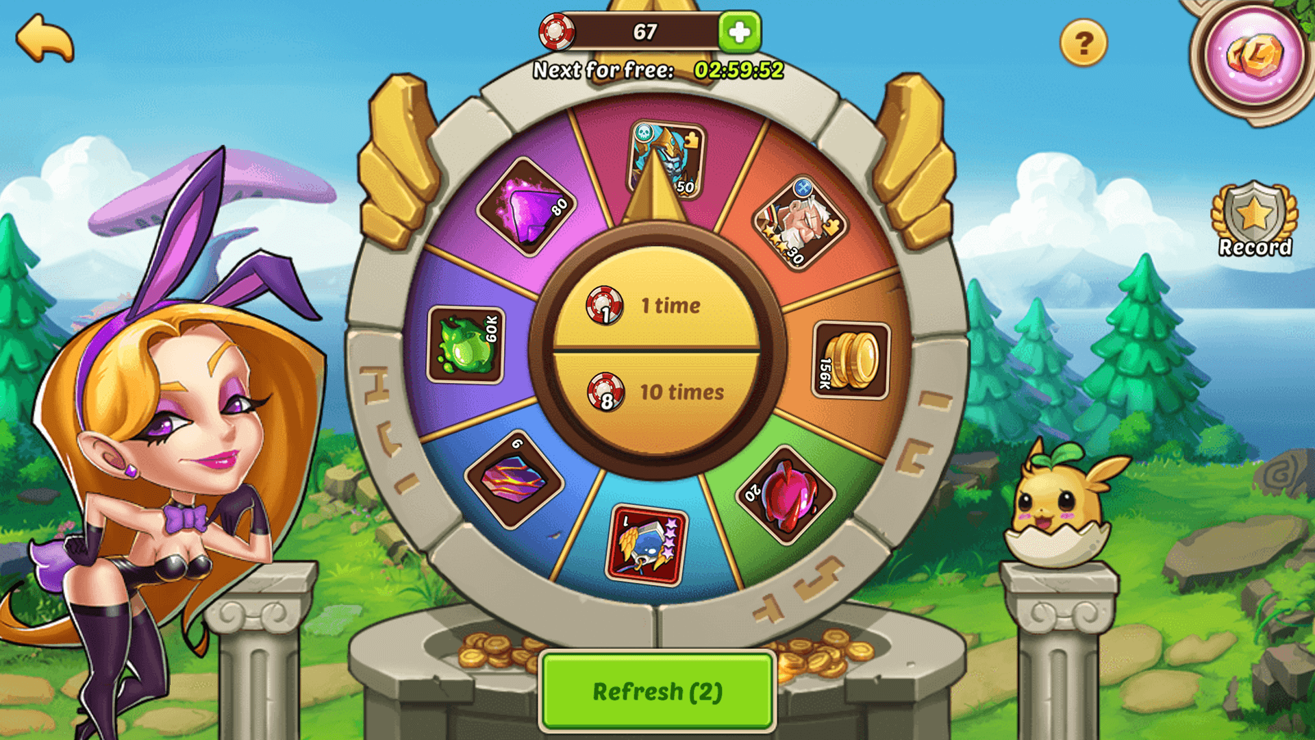 idle heroes private server screenshot