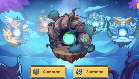 forest faction idle heroes