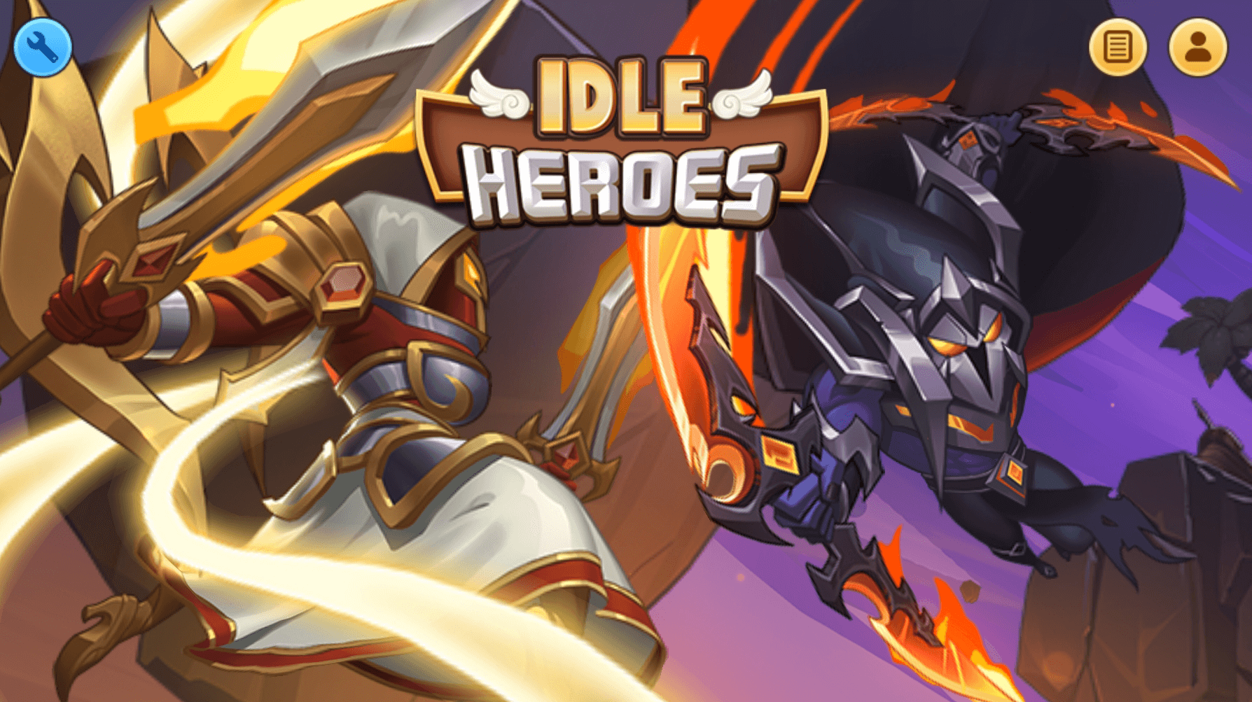 idle heroes loading screen